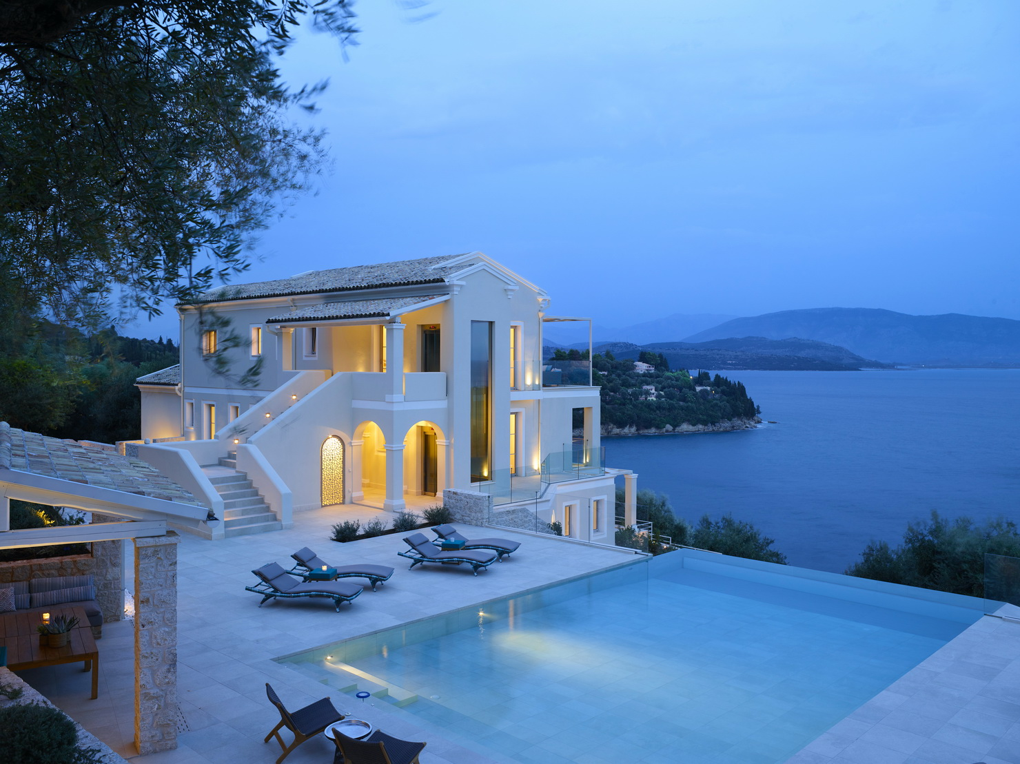 admin.corfuhomes.gr admin.corfuhomes.gr villa phos corfu evening shot pool 2 resize